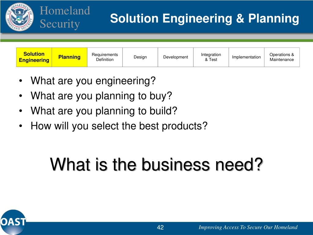 What are you engineering?