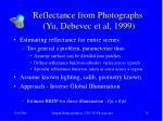 reflectance from photographs yu debevec et al 1999