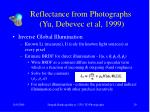 reflectance from photographs yu debevec et al 199929