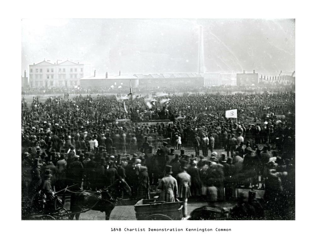 1848 Chartist Demonstration Kennington Common