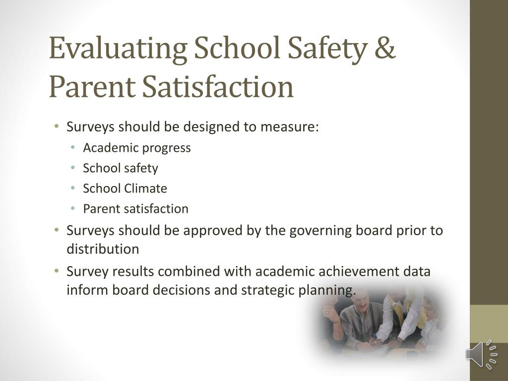 Evaluating School Safety & Parent Satisfaction