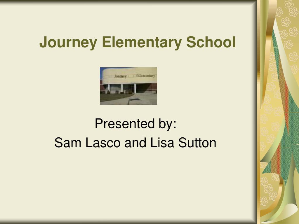 journey elementary school l.