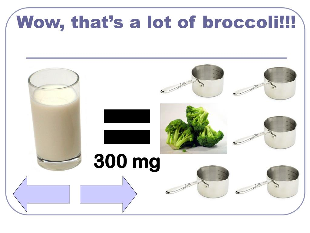 Wow, that's a lot of broccoli!!!