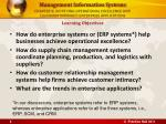 chapter 9 achieving operational excellence and customer intimacy enterprise applications