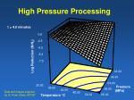 high pressure processing10