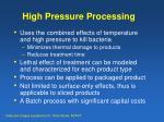 high pressure processing9