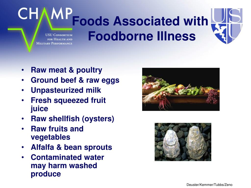 Foods Associated with