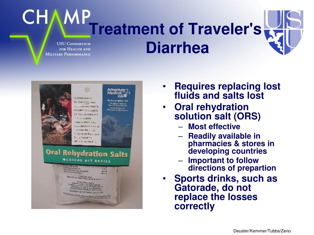 Treatment of Traveler's