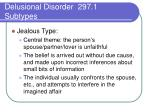 delusional disorder 297 1 subtypes2