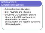 schizophrenia differential diagnosis1