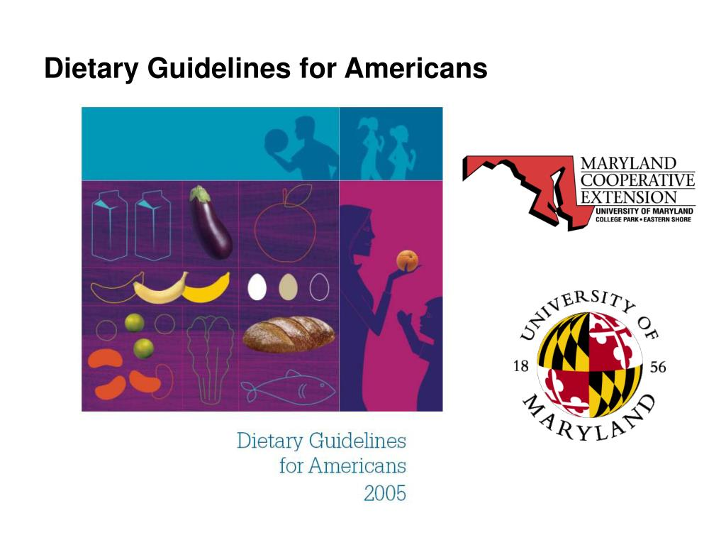dietary guidelines for americans l.