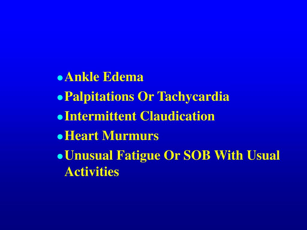 Ankle Edema