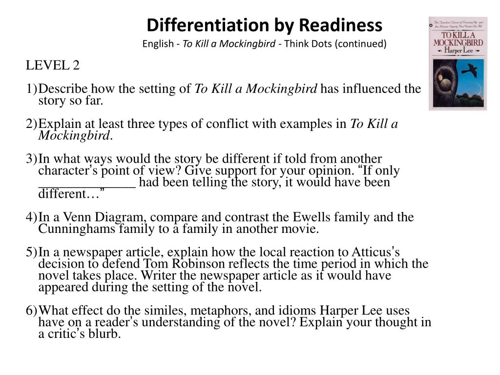 Differentiation by Readiness