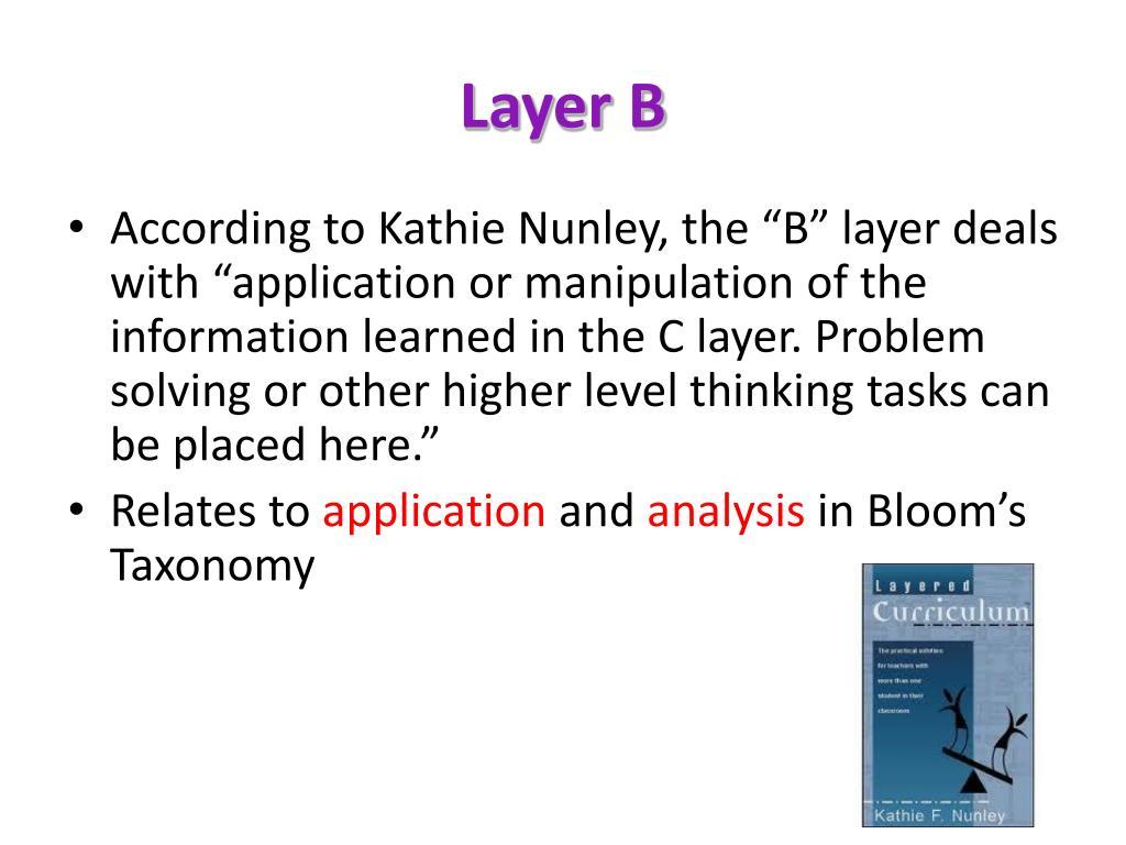 Layer B