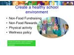 create a healthy school environment