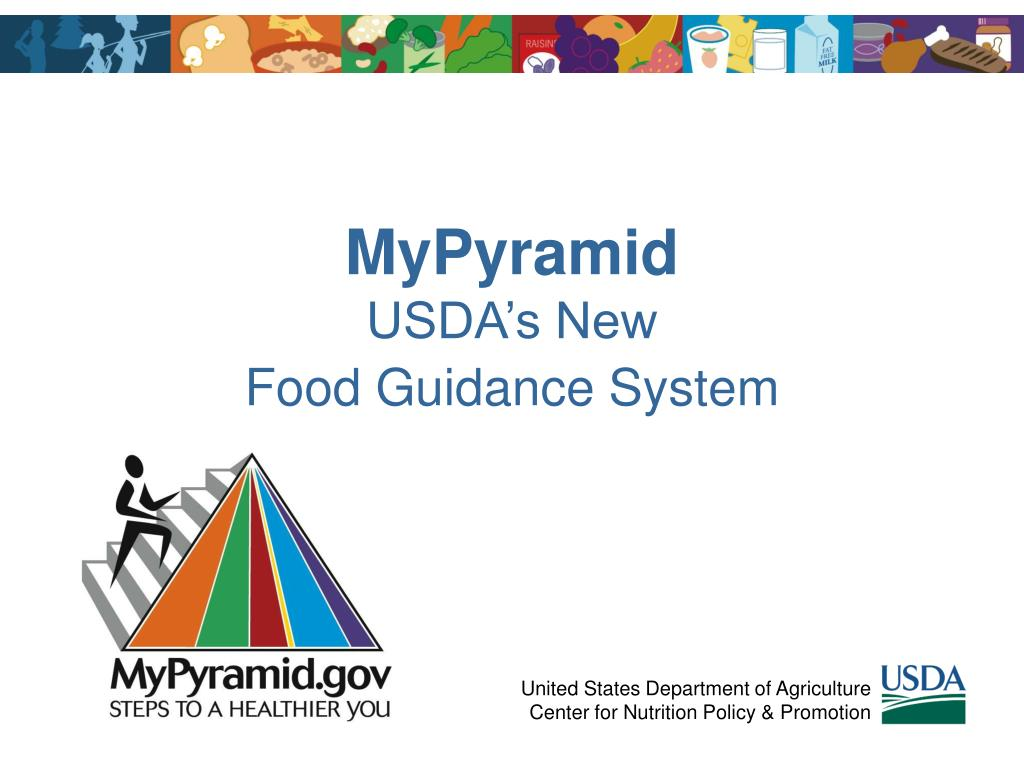 mypyramid usda s new food guidance system l.