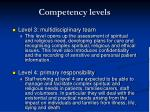 competency levels13