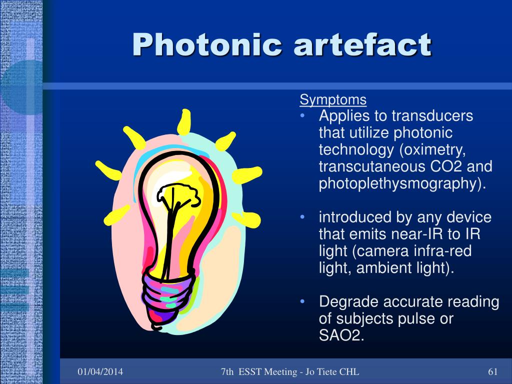 Photonic artefact