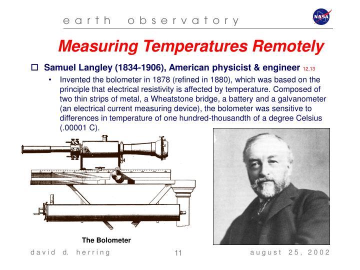 Measuring Temperatures Remotely