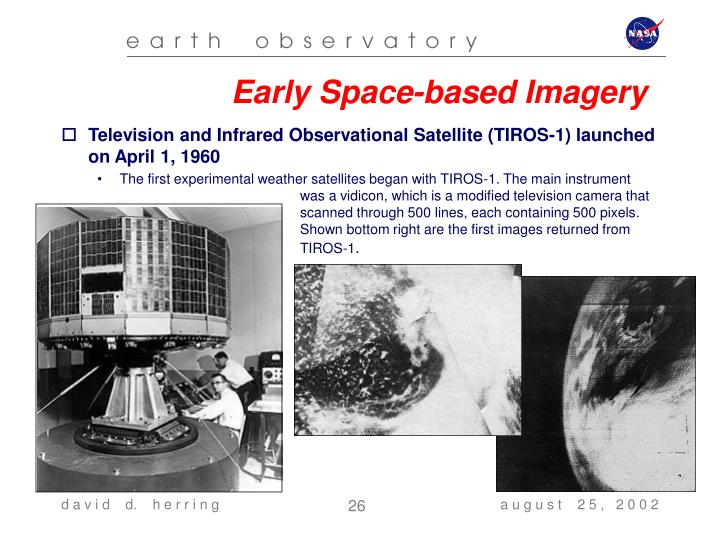 Early Space-based Imagery
