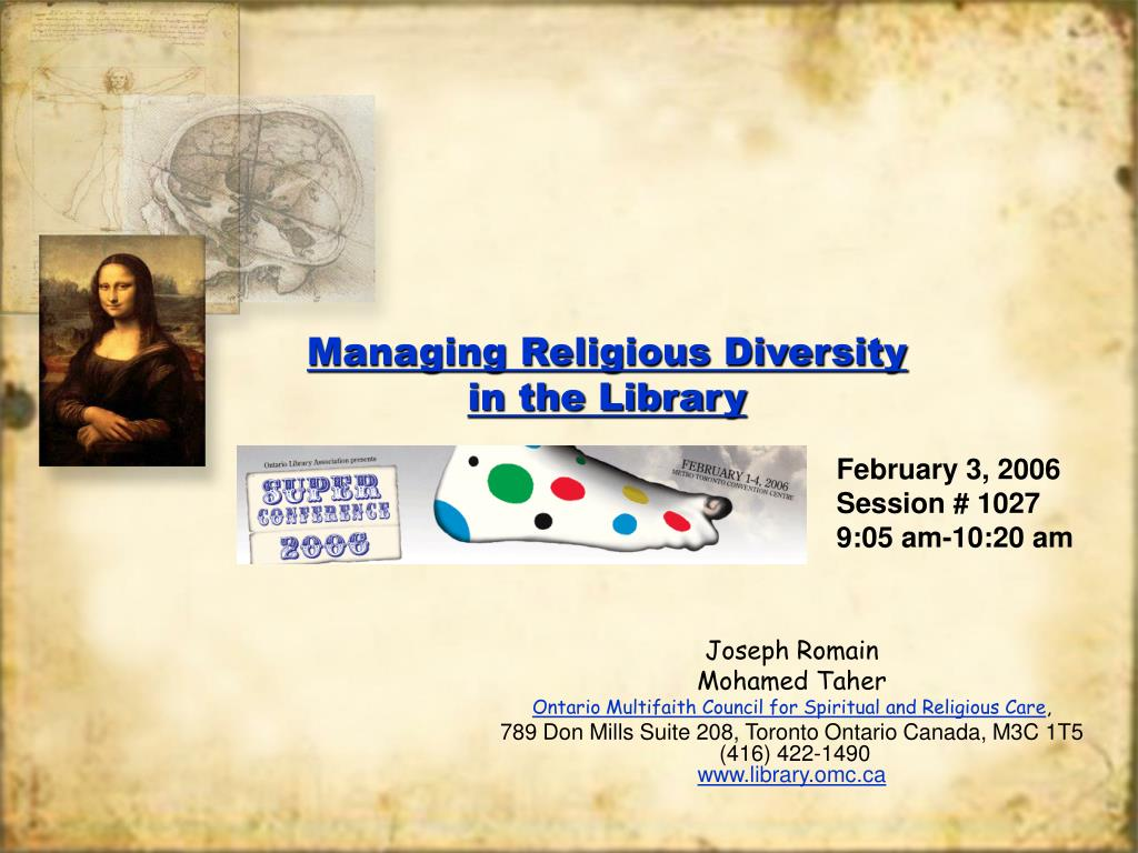 managing religious diversity in the library l.