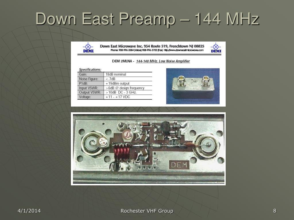 PPT - Preamps & Noise Figure PowerPoint Presentation - ID:603381