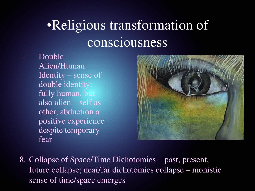 Religious transformation of consciousness