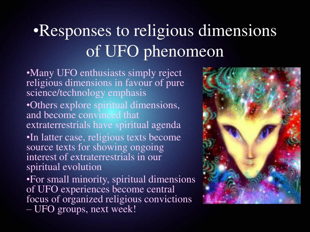 Responses to religious dimensions of UFO phenomeon