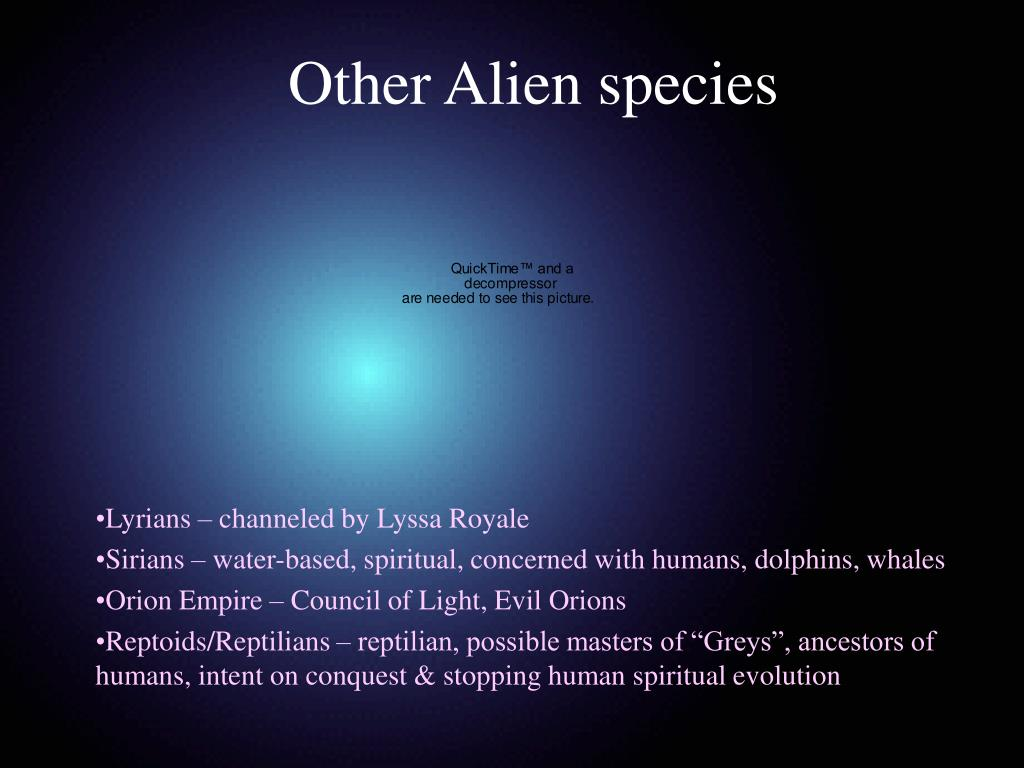 Other Alien species