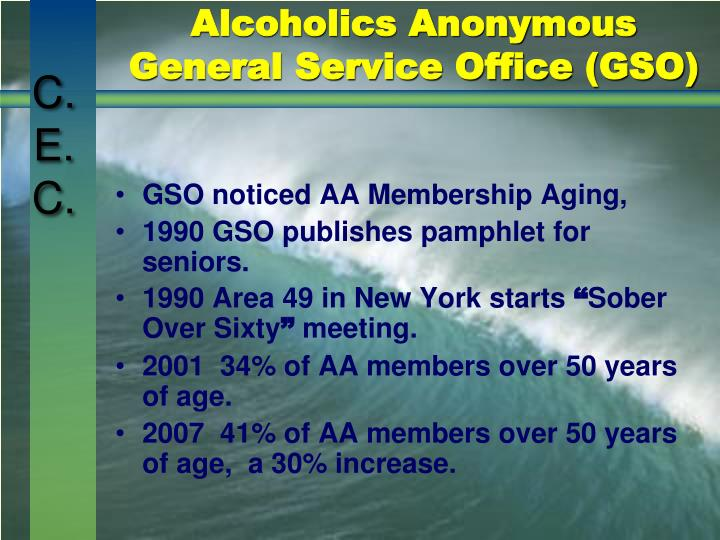 Alcoholics anonymous general service office gso