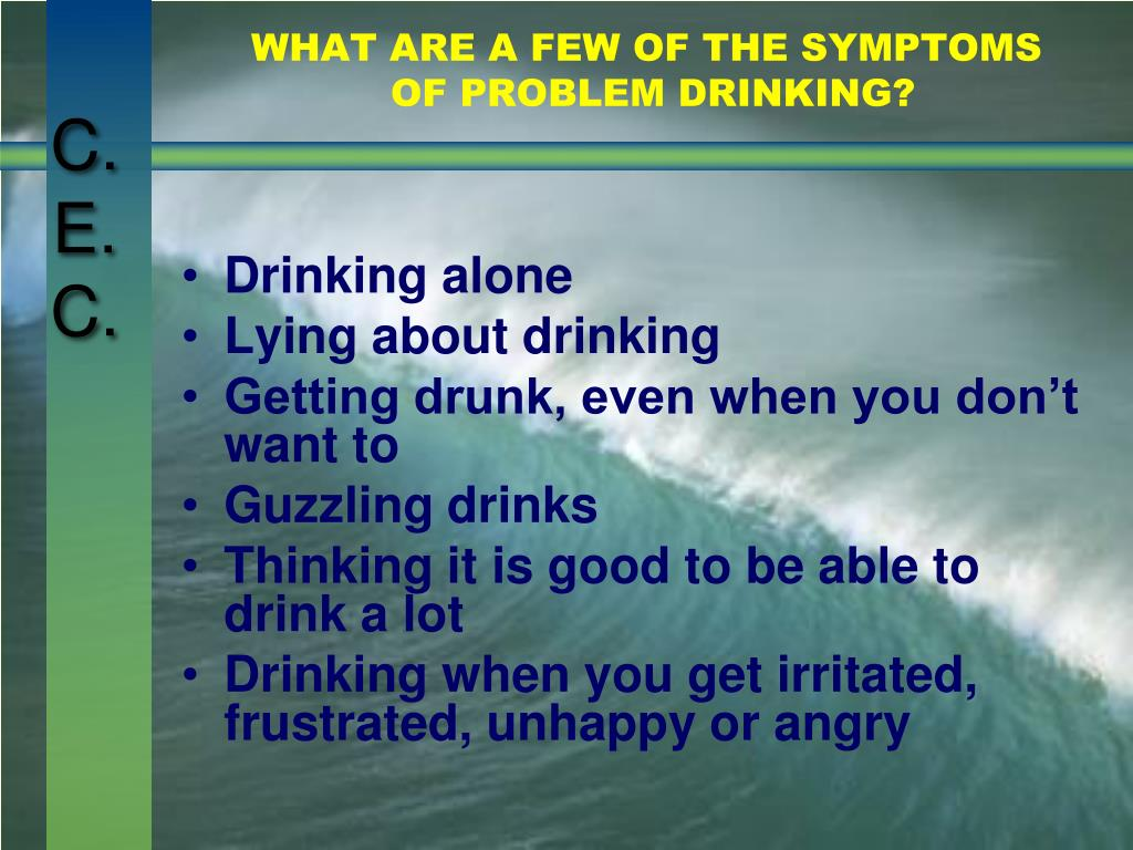 WHAT ARE A FEW OF THE SYMPTOMS