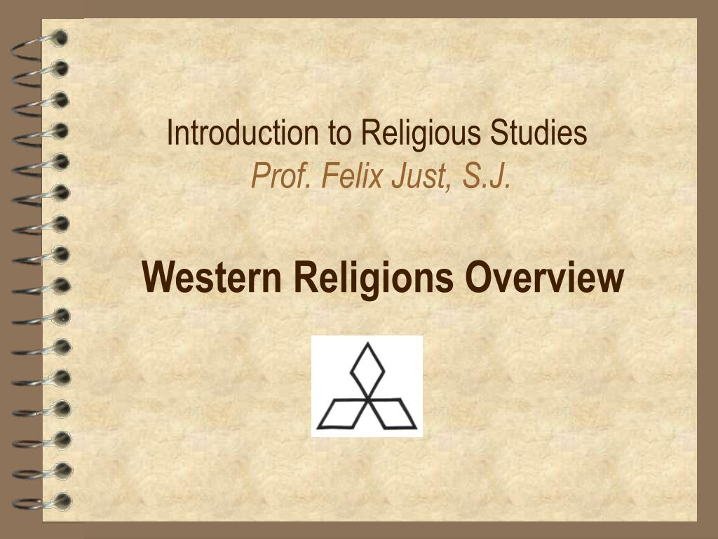 introduction to religious studies prof felix just s j l.