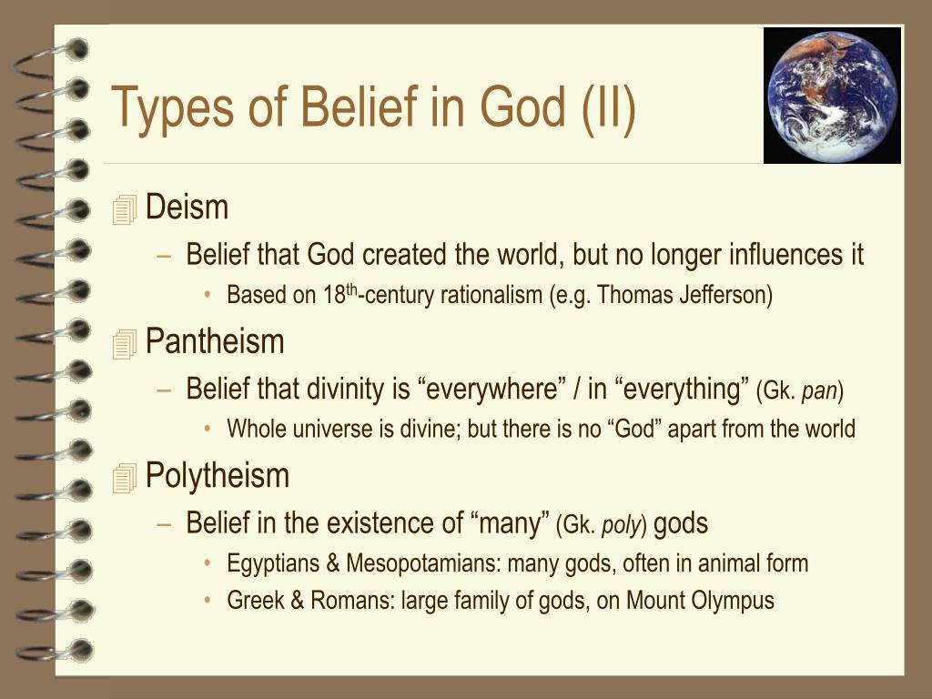 Types of Belief in God (II)