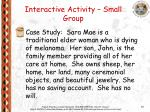 interactive activity small group33