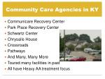 community care agencies in ky