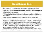 guesthouse inc