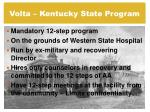 volta kentucky state program