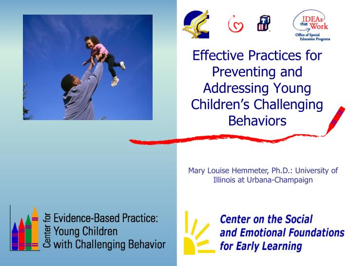 challenging behaviors in young children and Assessment and implementation of positive behavior support in preschools there is increasing concern over the number of young children who exhibit challenging behaviors in early childhood.