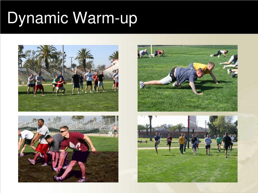 Dynamic Warm-up
