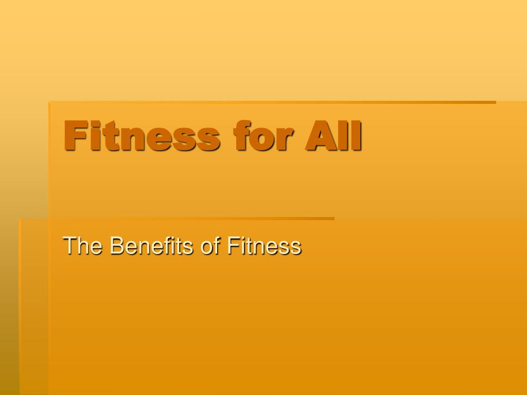 fitness for all l.