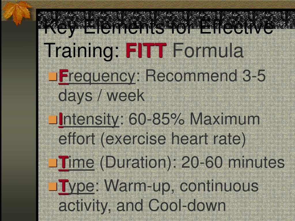 Key Elements for Effective Training:
