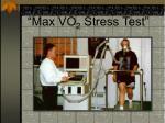 max vo 2 stress test