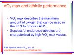 vo 2 max and athletic performance