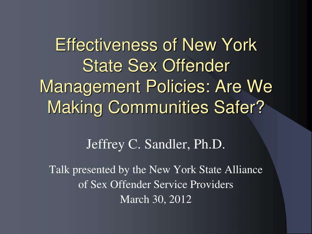Effectiveness of New York