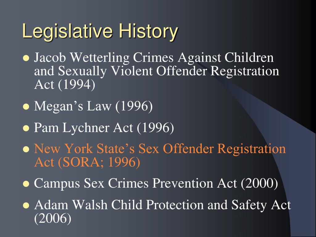 Legislative History