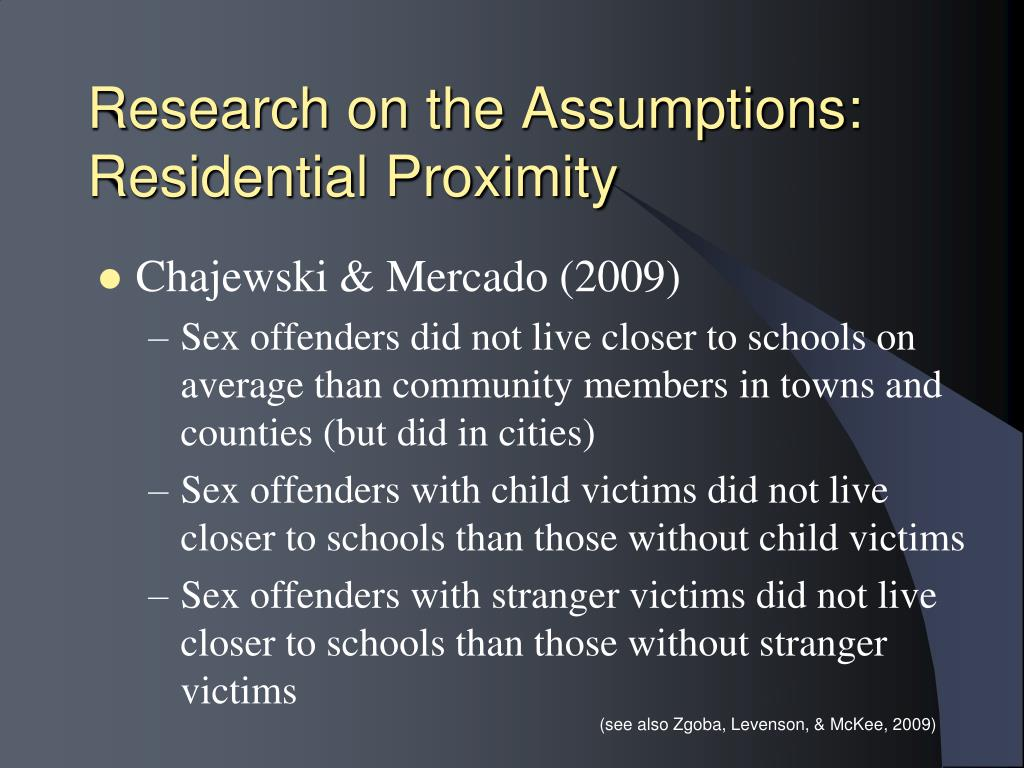 Research on the Assumptions: