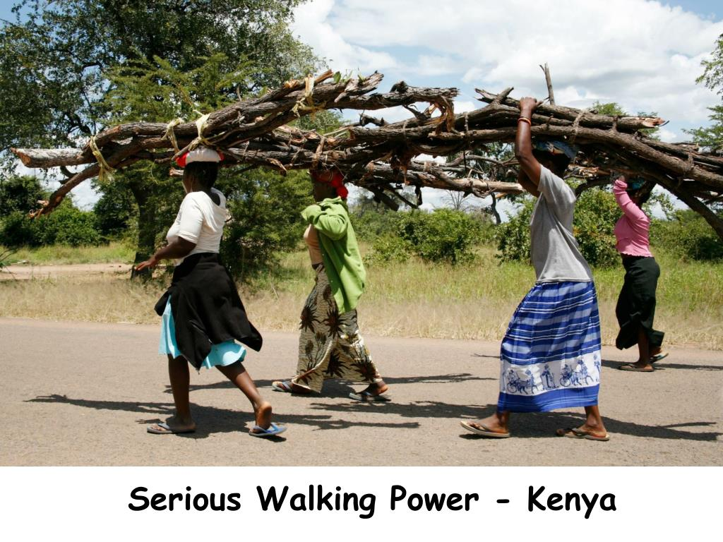 Serious Walking Power - Kenya