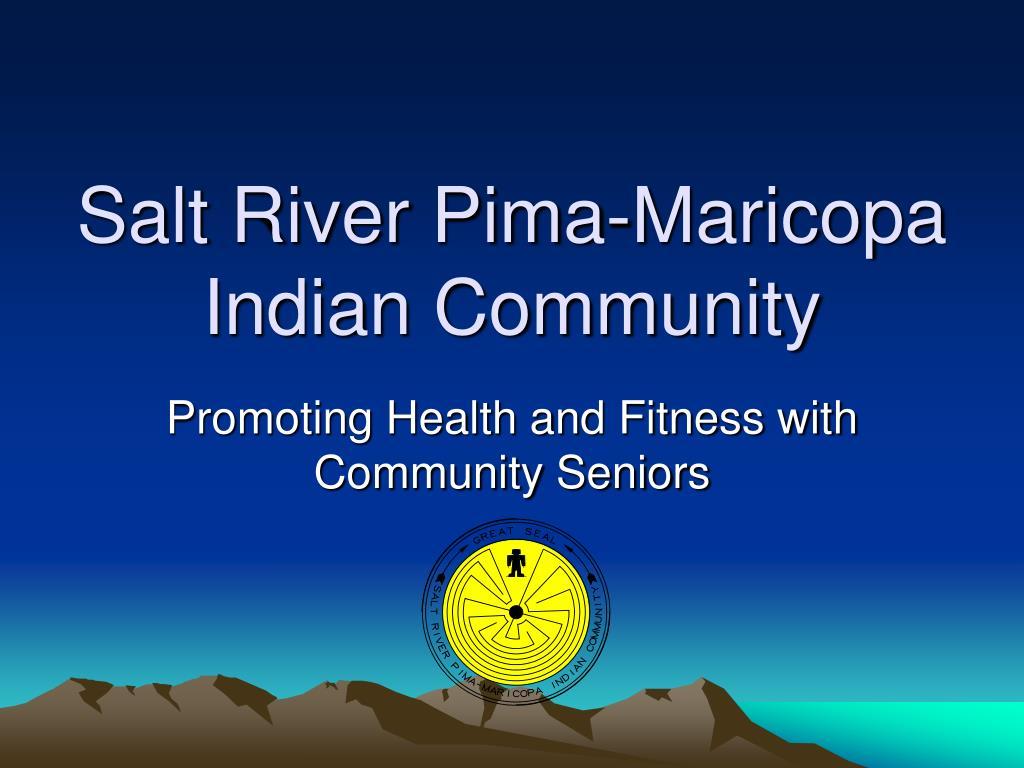 salt river pima maricopa indian community l.