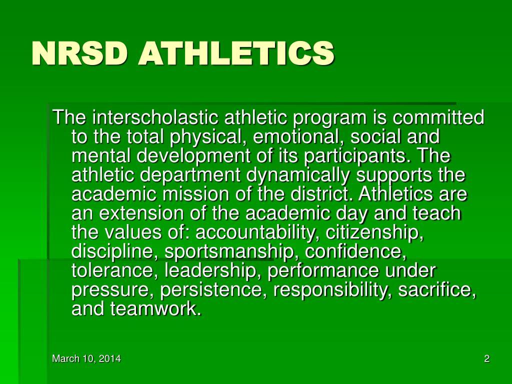 NRSD ATHLETICS