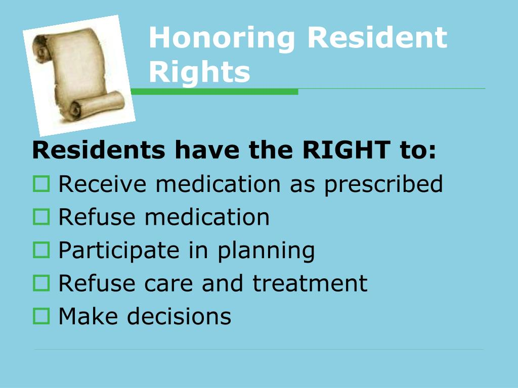 Honoring Resident Rights